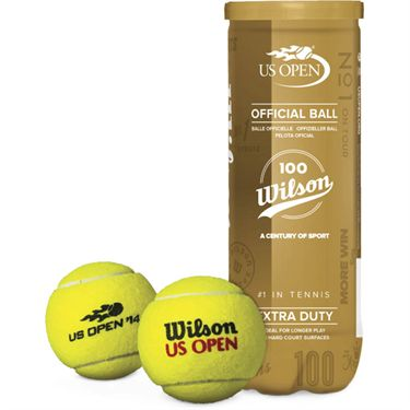 Wilson 100 Year Anniversary US Open Extra Duty Tennis Ball (Can)