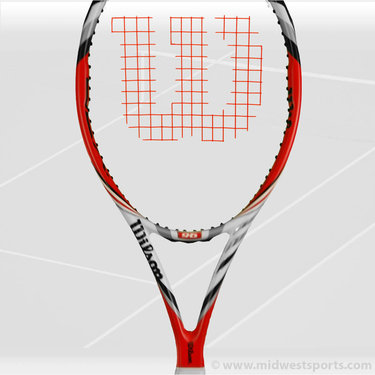 Wilson Steam 96 Tennis Racquet DEMO