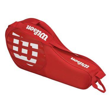 Wilson Match Junior Triple Tennis Bag 2017 - Red