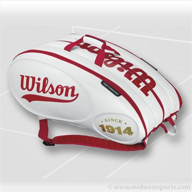 Wilson Tour 100 Year 15pk Tennis Bag