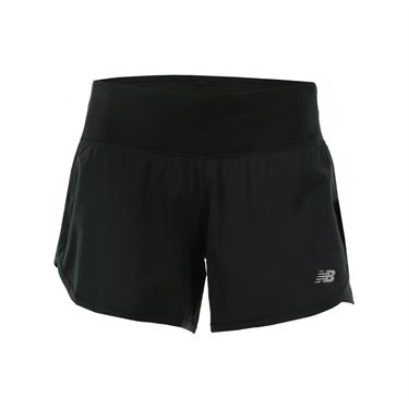 New Balance Impact 4 Inch 2 In 1 Short - Black