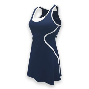 SSI Sophia Tennis Dress - Navy/White