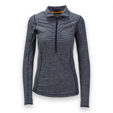 New Balance In Transit 1/2 Zip Top - Aviator