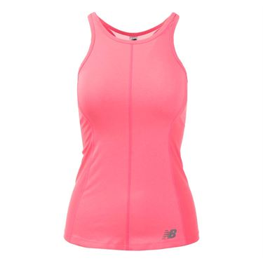 New Balance Centre Court Tank - Guava Orange Heather