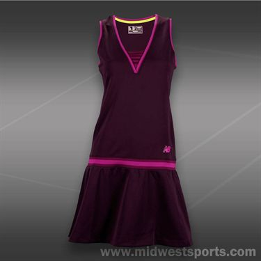 New Balance Tournament Dress -Black Grape