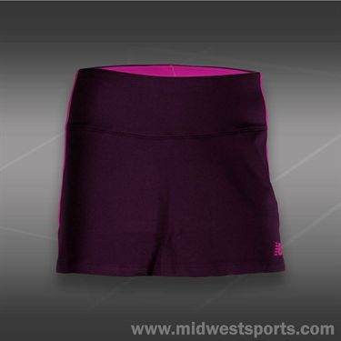 New Balance Challenger Skirt -Black Grape