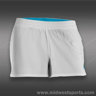 New Balance Muni Short-White/Blue Infinity