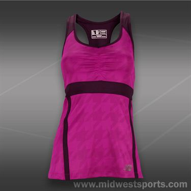 New Balance Tournament Racerback Top -Poisonberry