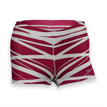 DUC Dive Compression Short-Maroon