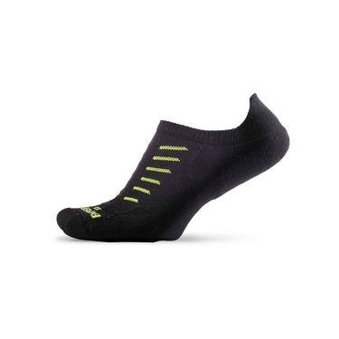 Thorlo Experia No Show Tab Tennis Sock- Black
