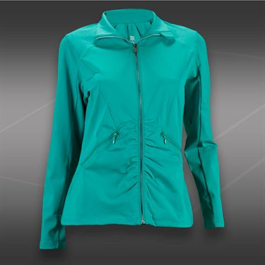 Tail Blue Court Full Zip Up Jacket-Sea Glass Green