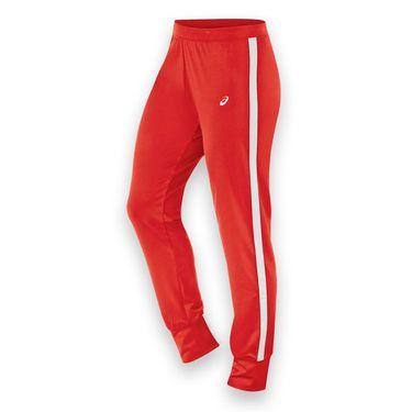 Asics Lani Warm Up Pant - Red/White