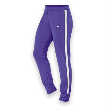 Asics Lani Warm Up Pant - Purple/White