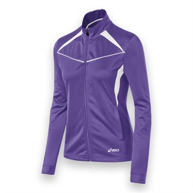 Asics Cali Jacket - Purple/White