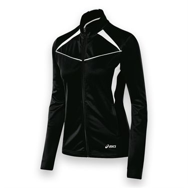 Asics Cali Jacket - Black/White