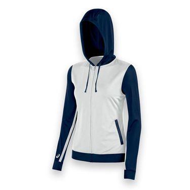 Asics Lani Warm Up Jacket - White/Navy