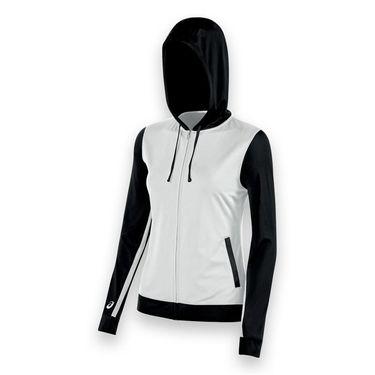 Asics Lani Warm Up Jacket - White/Black