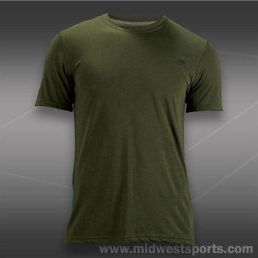 adidas Ultimate Short Sleeve Crew-Earth Green