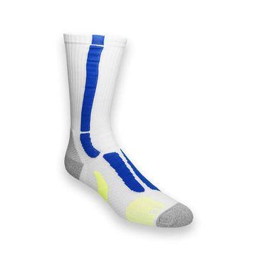 Asics Resolution Crew Sock - White/Blue