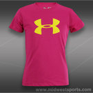 Under Armour Girls Big Logo Shirt