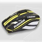 Babolat 2012 Club Line 12 Pack (Yellow) Tennis Bag