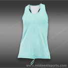Sofibella Prime Athletic Tank-Aqua