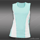 Sofibella Prime Sleeveless Top-Aqua