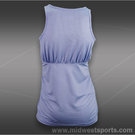 Lija Pace Ruched Crossover Tank