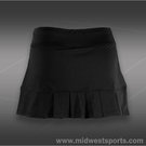 Lija Pleated Mesh Skirt