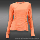 Lija Tranquil Long Sleeve Rouched Top