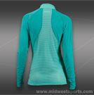 Lija Clarity Score 1/4 Zip Pullover-Teal