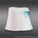 Lija Clarity Groove Ditsy Print Skirt-White Mult