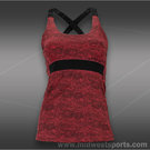 Jerdog Bordeaux Lace Resort Racer Tank