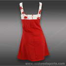 Jerdog Red Flamingo Sun Dress