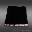 Jerdog Cranberry Curl Front Wrap Skirt