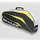 Dunlop Biomimetic Yellow 3 Pack Tennis Bag