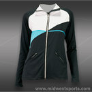 Pure Lime Center Court Jacket-Black
