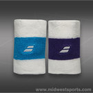 Babolat Reversible Jumbo Wristband - Purple/Blue