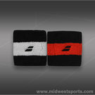 Babolat Reversible Wristband-Black/Orange