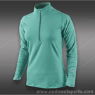 Nike Element 1/2 Zip Top-Diffused Jade