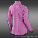 Nike Element 1/2 Zip Top-Red Violet
