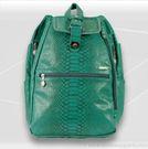 Jet Pac Reptilian Teal Cooljet Tennis Backpack