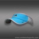 adidas Mens adizero II Visor-Solar Blue/Black