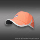 adidas Womens adizero II Hat-Orange Glow/White/Solar Blue