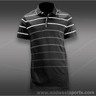 Nike Dri-Fit Cotton Stripe Jersey Polo