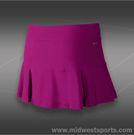 Nike 4 Pleated Knit Skirt-Bright Magenta