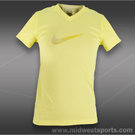 Nike Girls Legend Swoosh V-Neck Top