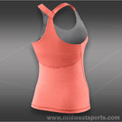 Nike Advantage Solid Tank-Atomic Pink