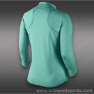 Nike Baseline 1/2 Zip Top-Diffused Jade