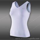 Nike V-Back Tank-Violet Frost